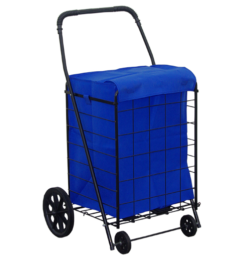 Shopping Cart Liner With Lid