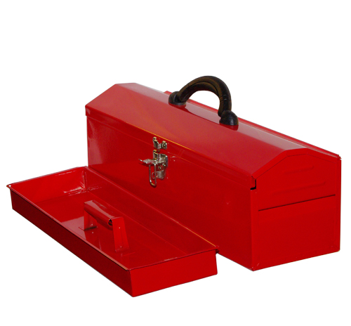 "16"" Red Color Tools Box"