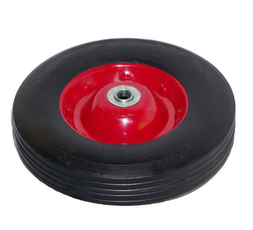 "10"" Rubber Solid-Hand Truck Wheel"
