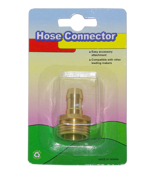 "5/8""-3/4"" Male Brass Hose Connetctor"