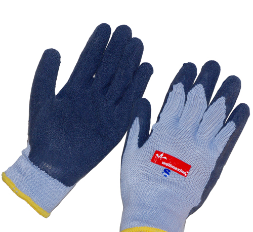 12PAIR High Quality Latex Coated Working Gloves