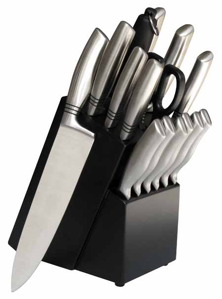 16PC Knife Block Set