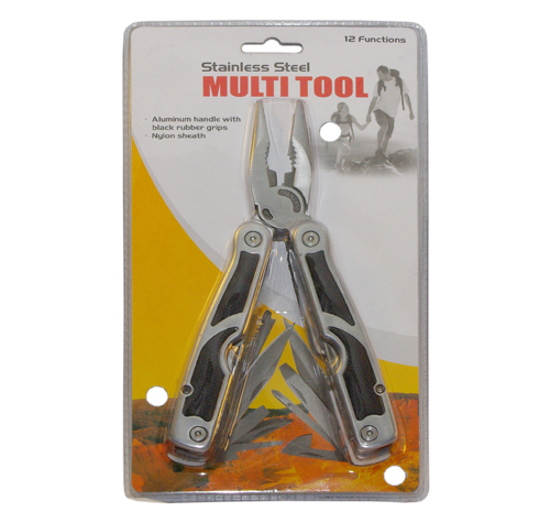 12 Functions Stainless Steel Multi Tool