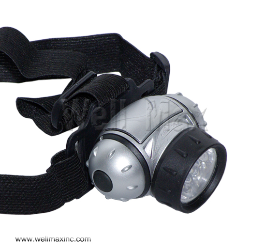 12 LED Waterproof Head Lamp Light