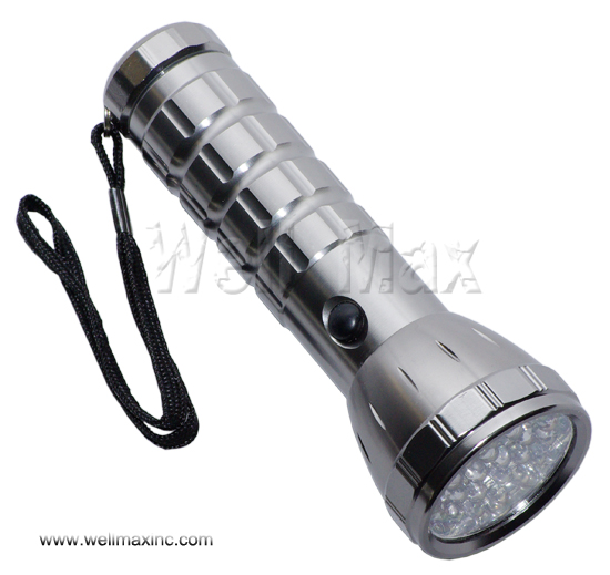 28LED Aluminium Flashlight
