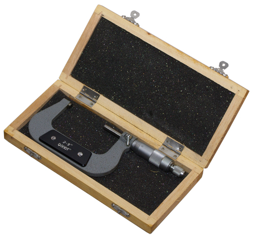 "2 Sizes 0.0001"" Outside Micrometer"
