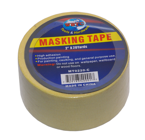 "2"" x 20 Yards Masking Tape"