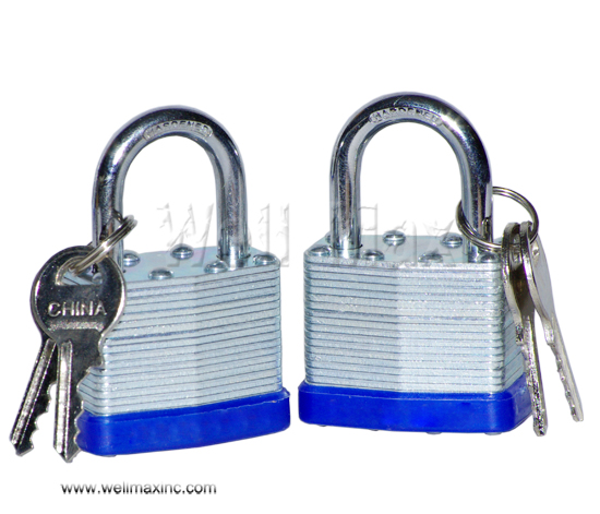"2PC X 1-1/2"" Short Shank Laminated Padlock Set"