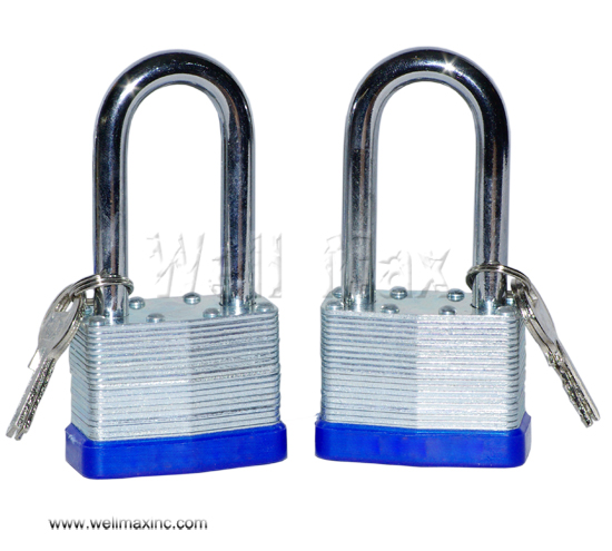 "2PC X 2"" Long Shank Laminated Padlock Set"
