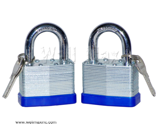 "2PC X 2"" Short Shank Laminated Padlock Set"