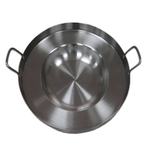 "16"" Stainless steel Comal-Fry Pan"
