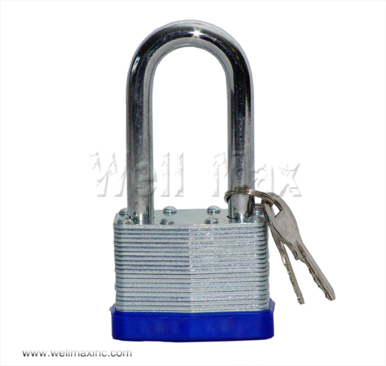 "40mm(1-1/12"") Long Shank Laminated Padlock"