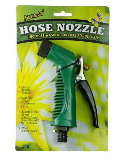 "5-1/2"" Hose Nozzle With Card China Made"
