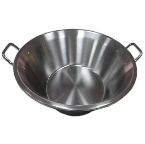 "22"" Stainless steel Cazo Cooking Pot"