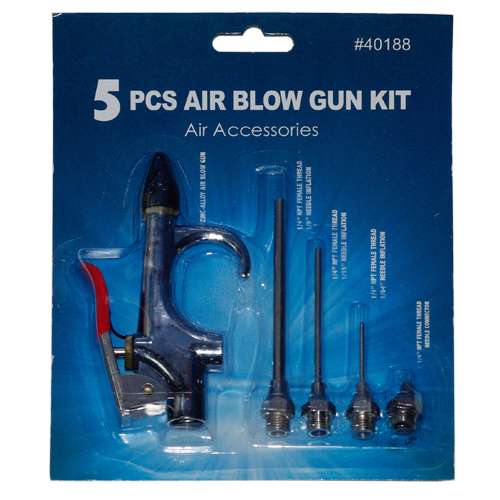 5 PC Air Blow Gun Kit