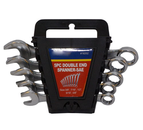 5PC Double End Spanner-SAE