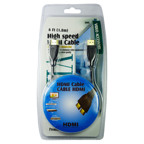 6FT (1.8MM) High Speed HDMI Cable