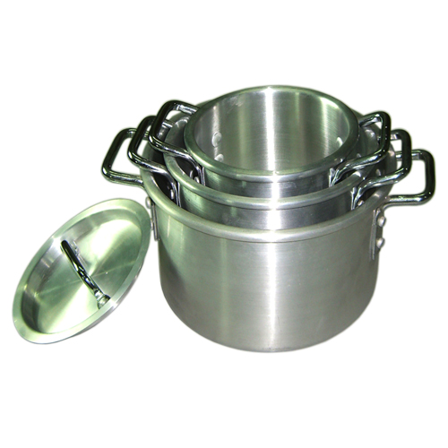4PC Aluminum Stock Pot Set