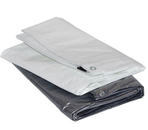 8FT X 16FT Silver Heavy Duty Poly Tarpaulin