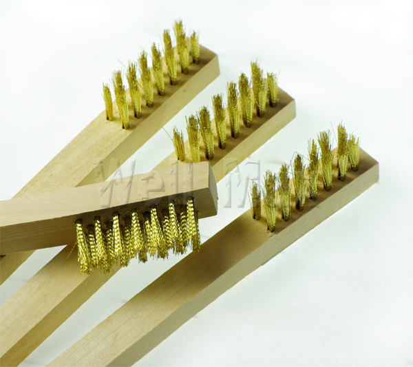 "24PC 7"" MINI Brass Wire Brush"