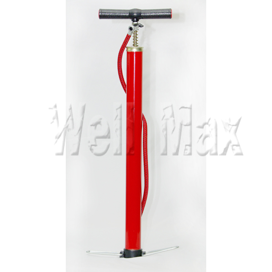 Inflation Air Hand Pump Red Color