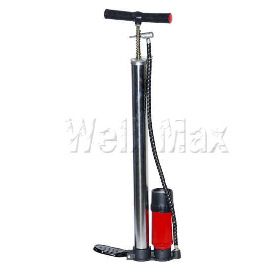 Air Hand Pump With Gauge