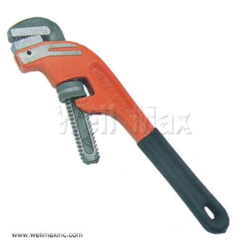 All Size Offset Pipe Wrench With Dipped Handle