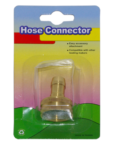 "5/8""-3/4"" Female Brass Hose Connetctor"