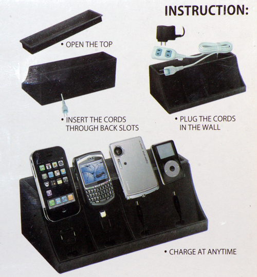 Electronic Charging Station And Desk Organizer Loading Zoom